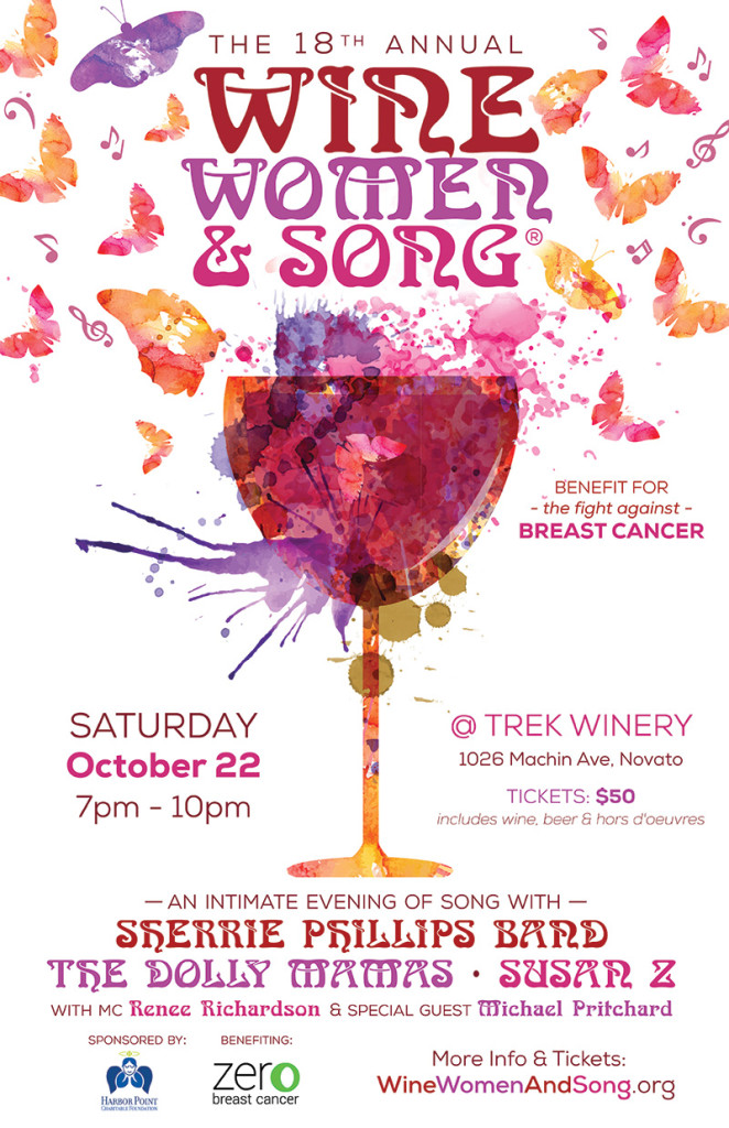 Wine Women & Song Concert to benefit the fight against breast cancer